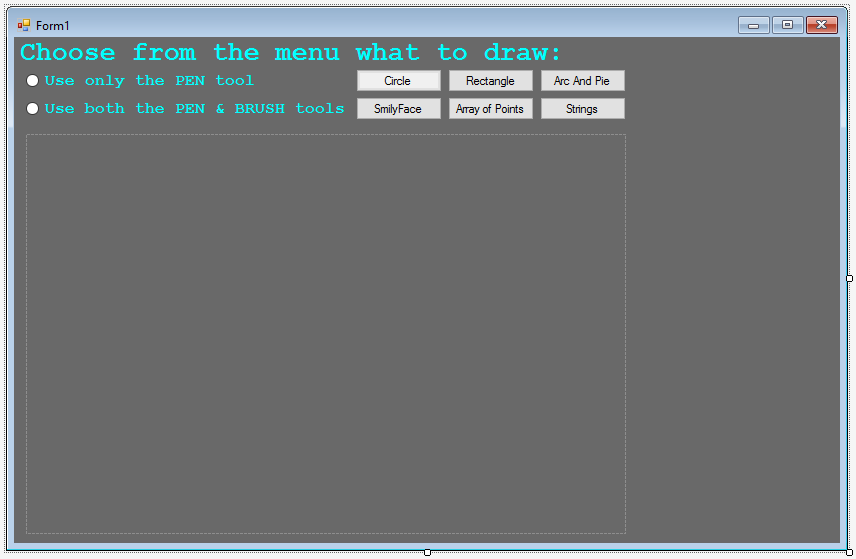 Windows Forms C Drawing And Gdi Tutorials Windows Forms